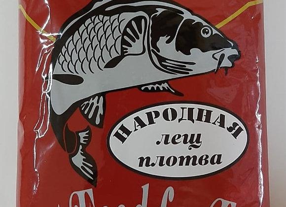 Прикормка НАРОДНАЯ Лещ-Плотва 1кг.
