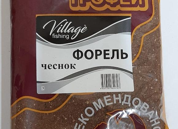 Прикормка Трофей Форель Чеснок 0,9кг