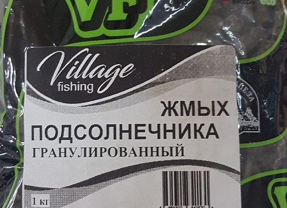 Жмых подсолнечника гранулированный 1кг.