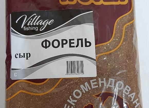 Прикормка Трофей Форель Сыр 0,9кг