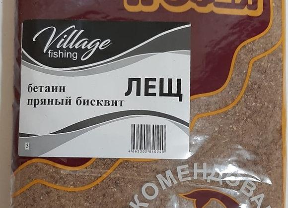 Прикормка Трофей Лещ (бетаин) Пряный бисквит 0,9кг