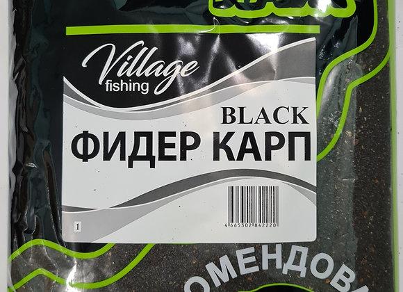 Прикормка Лайт Black Фидер карп (кукуруза) 0,9кг.