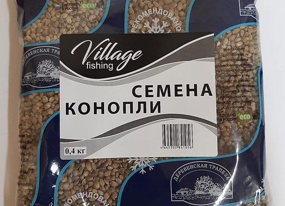 Семена конопли 0,4кг.
