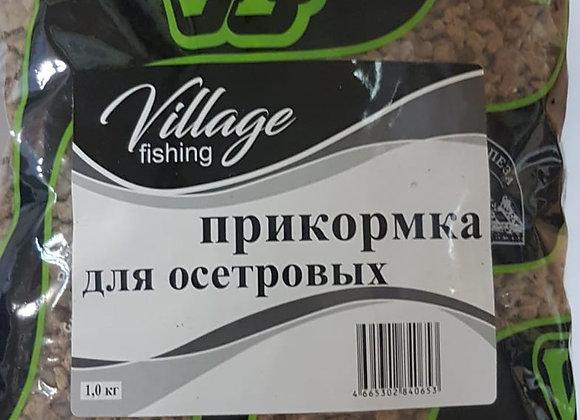 Прикормка для осетровых рыб 1кг.