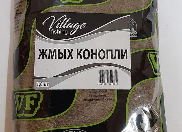 Жмых конопли 1кг.