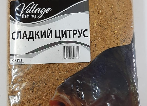 Прикормка Карп Сладкий Цитрус 0,9кг.