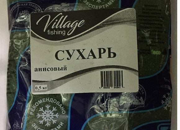 Сухарь анисовый (зеленый) 0,5кг.