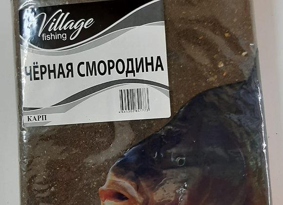 Прикормка Карп Черная Смородина 0,9кг.