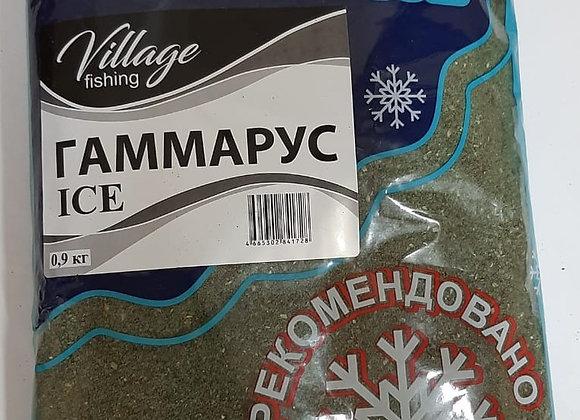Прикормка ICE Гаммарус 0,9кг.