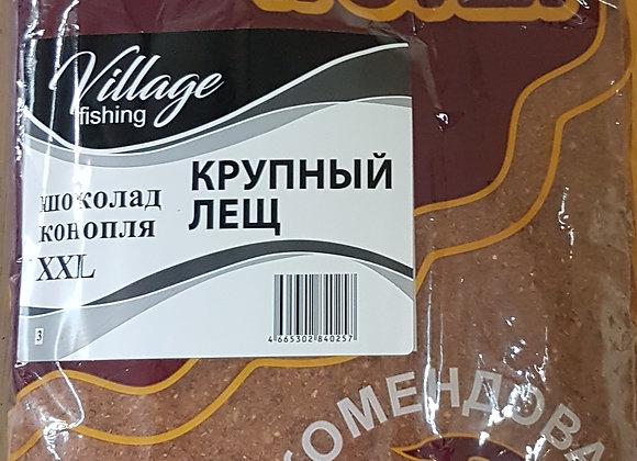 Прикормка Трофей Крупный лещ Шоколад Конопля XXL 0,9кг