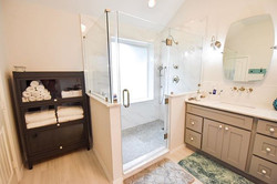 How AMAZING is this new master bathroom_