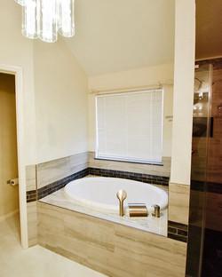What an elegant bathtub upgrade!