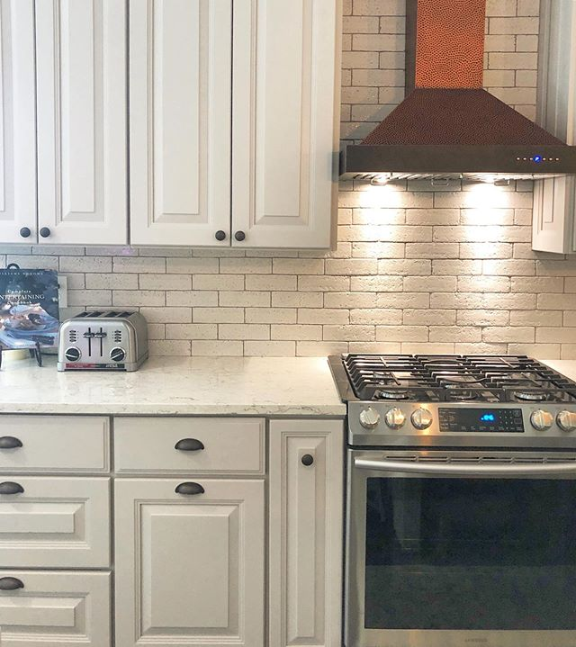 We just loove this #kitchen we renovated