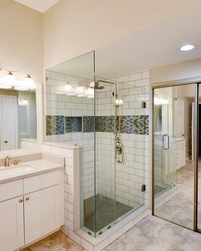 How amazing is this shower renovation_ W