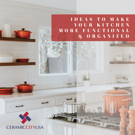 Ideas to make your kitchen more functional and organized