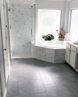Amazing #bathroomremodel just completed