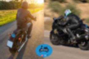 """מדבקות """"אופנוען בטוח""""חדש!"""
