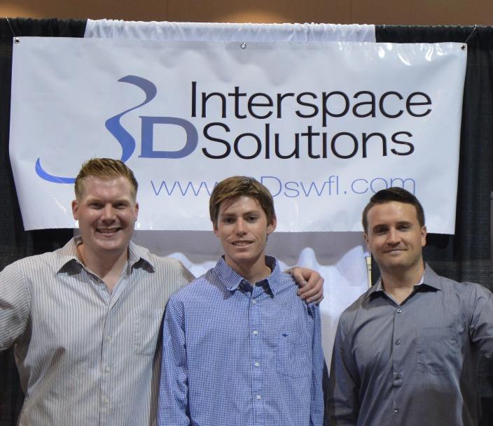 Photo credit: Sarah Tumm Left to right: Bryce Clerk, Brandon Eells, and Sean Radigan