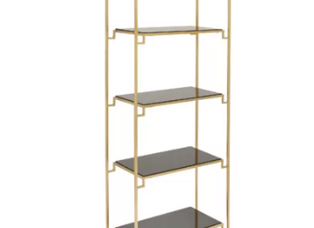Shelly Gold Accent Shelf