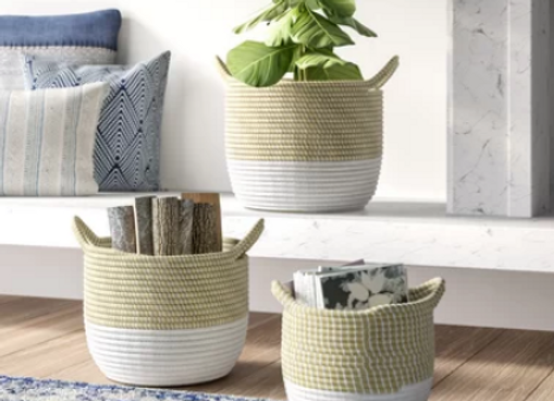 Verona Baskets - Set of 3