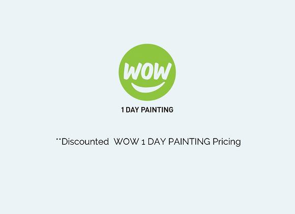 Full Design Plan Wow1day Painting Partnership Pricing