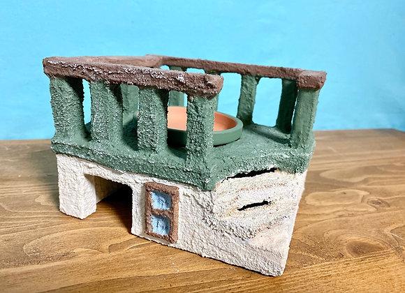 屋上付きグリーンシェルター