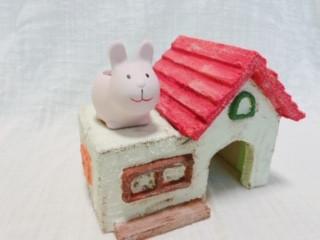 ウサギさんの住むお家