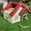 Thumbnail: 赤い屋根と入り口レンガのお家☆