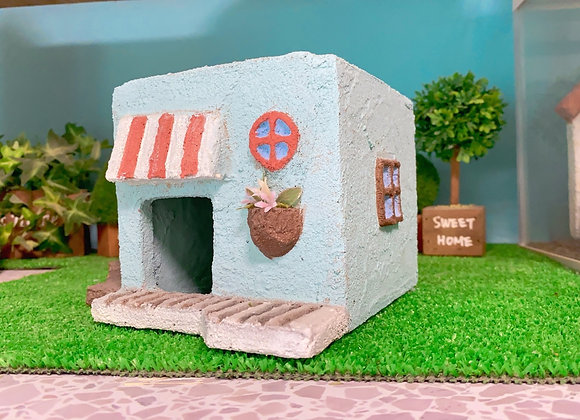 カラフルなお店屋さんシェルター☆2階建て