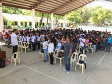 Pure Love Symposium at Paoay Lake National High School