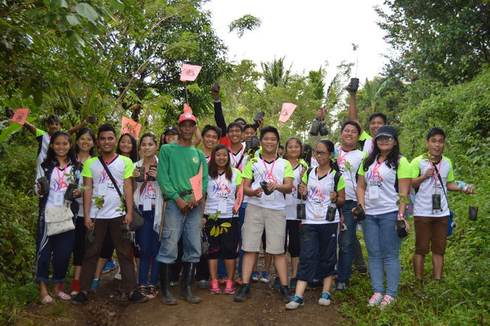 Tree Planting Project in Tanay, Rizal