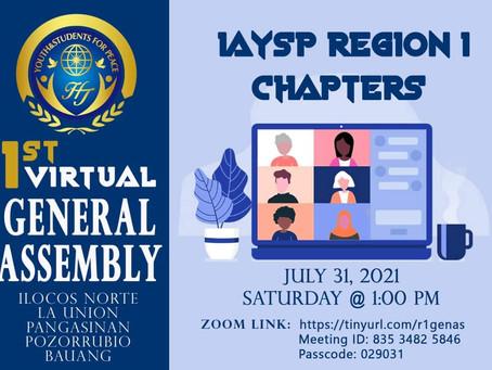 YSP Region1 held First Regional Assembly