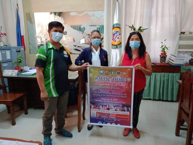 YSP with MMSU CTE Dean, Dr. Eliza Samson