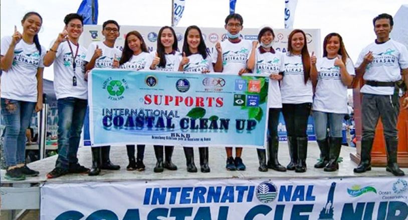 YSP Coastal Clean-up Drive in Manila Bay