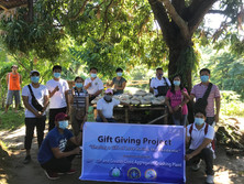 Gift Giving project in Bauang, La Union