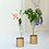 Thumbnail: Gold Dipped Bud Vases