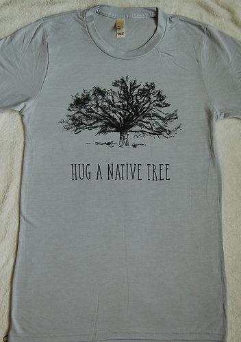Hug A Native Tree, Bamboo - Silver