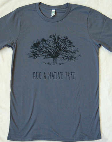 Hug A Native Tree - Pacific Blue