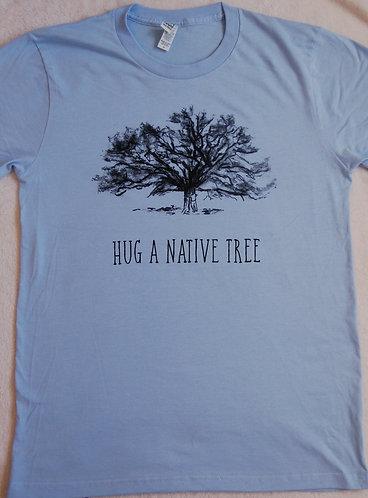Hug A Native Tree - Heaven Blue