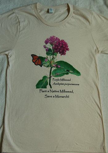 Purple Milkweed - Natural