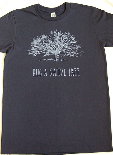 Hug A Native Tree - Navy