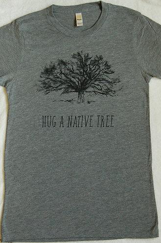 Hug A Native Tree, Bamboo - Cloudburst