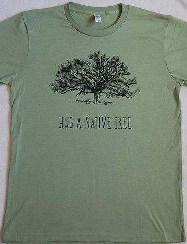 Hug A Native Tree - Avocado Green