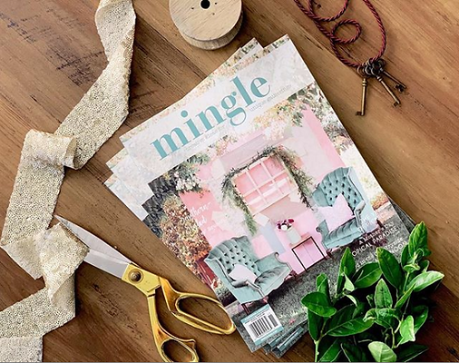 Serendipity Events Mingle Magazine Cover