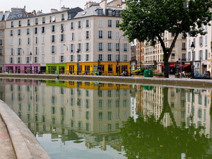 The Canal Saint-Martin will become pedestrian