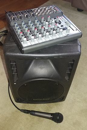 Small PA System