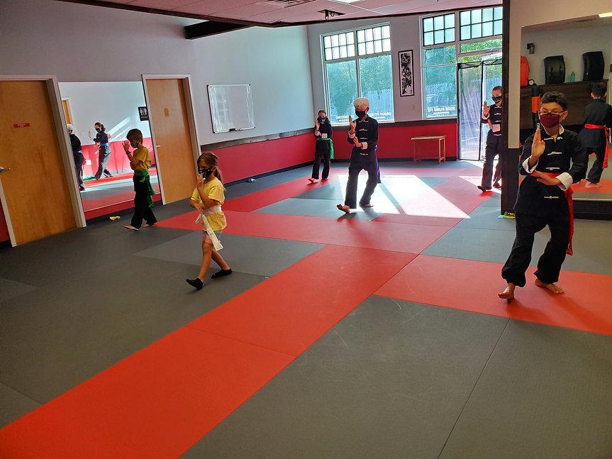 Kids Martial Arts Class 7 Star form