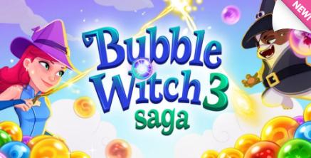 bubble witch 3 saga logo