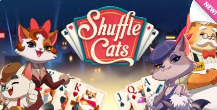 shuffle cats logo