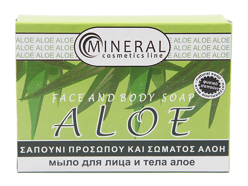 Face and body soap aloe by Mineral Cosmetics1+1 δώρο